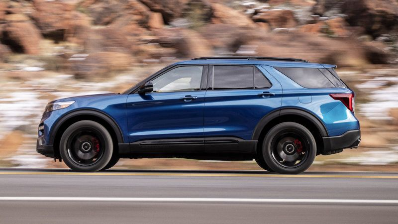 2020 Ford Explorer St Gets Mercedes Original Tires And Here S Why