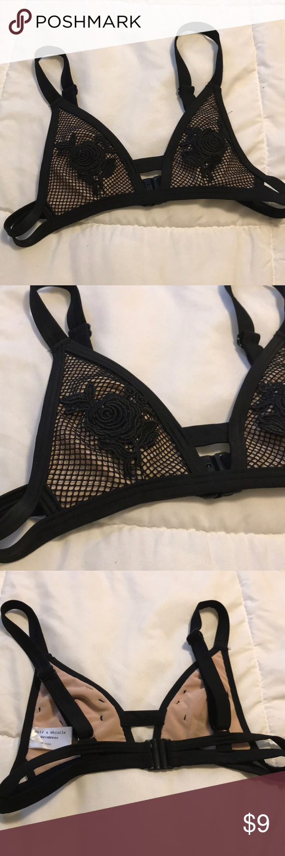 Wolf and Whistle Bikini top Size extra small never worn ...