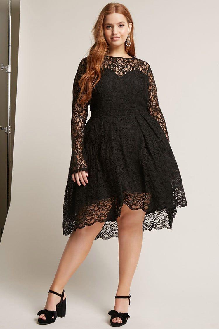 Product Nameplus Size Crochet Lace Dress Categoryclearancezero