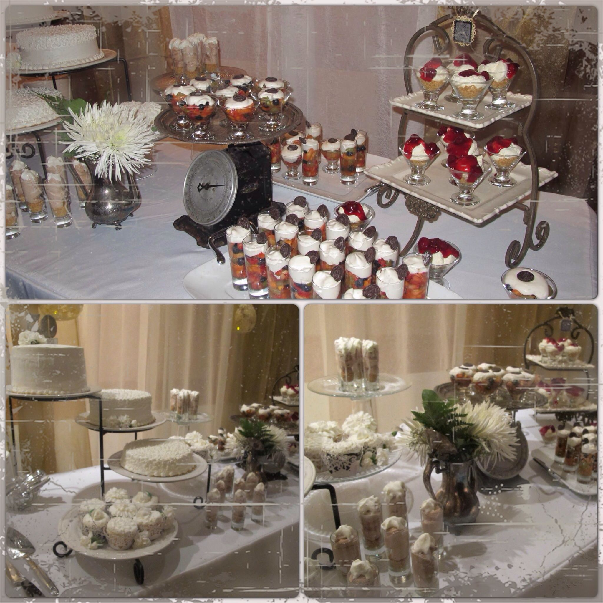50th Anniversary Party Decorations Cake Dessert Table Vintage