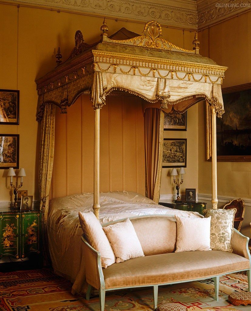 ornate bedroom furniture bedroom at harewood house the ornate bed chairs and 12753