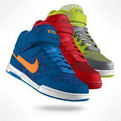 Corbata Ascensor Miniatura  Nike Air Mogan Mid 2 iD Skateboarding Shoe. Nike Store - black and blue |  Nike store, Nike air, Nike