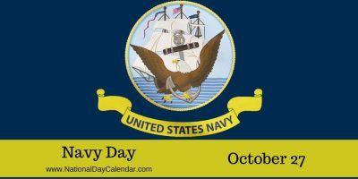 Navy Day October 27 National Day Calendar Navy Day National Black Cat Day National Day Calendar