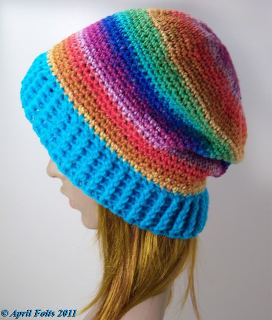 Plain Slouch Hat *Free Pattern with Video* - CROCHET.. I made this ...