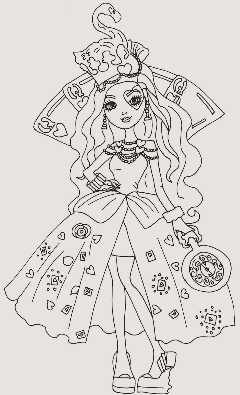 Ever After High Coloring Pages Unique 31 Inspirierend Ever After High Ausmalbilder Neuste In 2020 Heart Coloring Pages Minion Coloring Pages Cartoon Coloring Pages