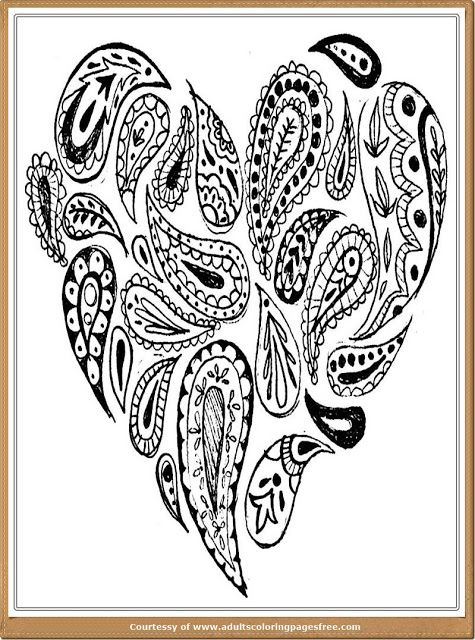 Valentine Romance Coloring Pages For Adults