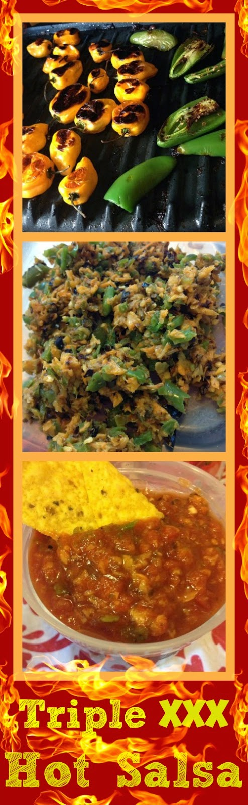 Homemade Mexican Xxx with regard to triple xxx hot salsa recipe. #cambiaticlean and #spicy! | mexican