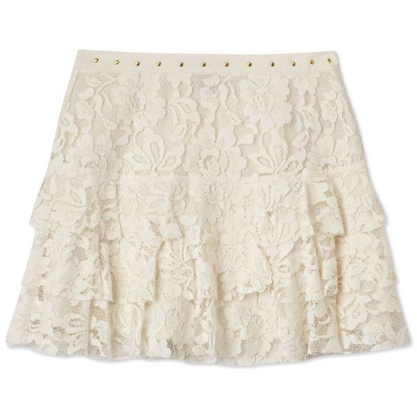 FOREVER 21 Darling Floral Lace Skirt ($17) ❤ liked on Polyvore featuring skirts, bottoms, saias, floral knee length skirt, floral tiered skirt, tiered skirt, floral printed skirt et forever 21 skirts