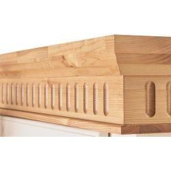 Drehtürenschrank - 195 cm - 218 cm - 62 cm - Schränke > Kleiderschränke > Drehtürenschränke Möbel Kr #islanddecorating