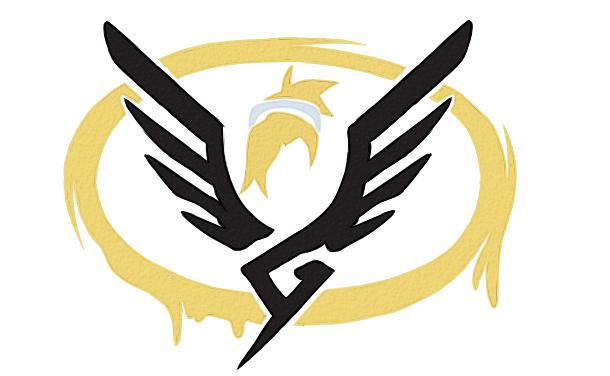Overwatch Logo By Feeerieke On Deviantart Overwatch Posters Logo Wall Bedroom Stickers