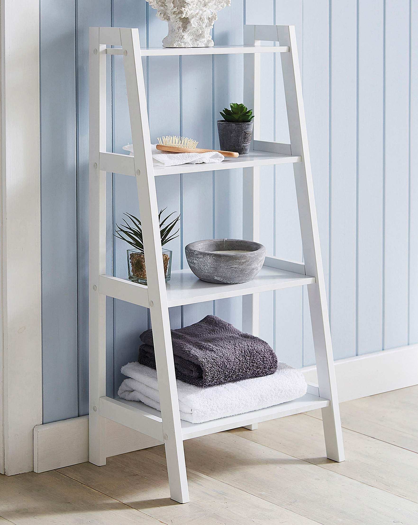 Ladder Shelving Unit | Shelves, Ladder shelving unit ...
