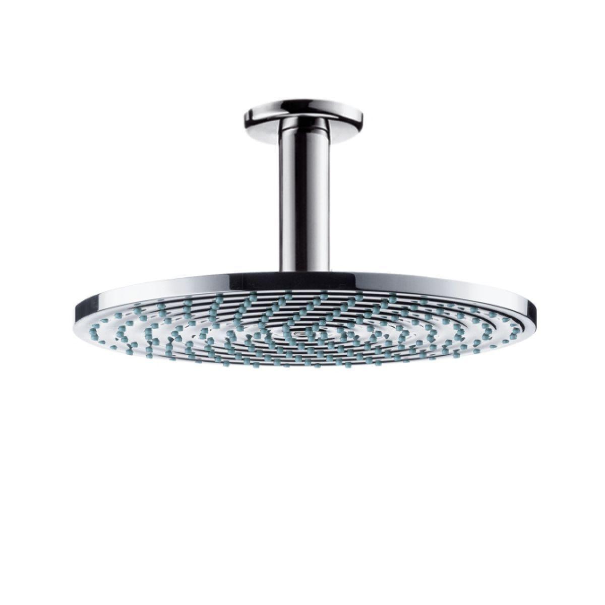 shower head hansgrohe raindance air 24cm 10cm arm 388.80 ukbathrooms ...