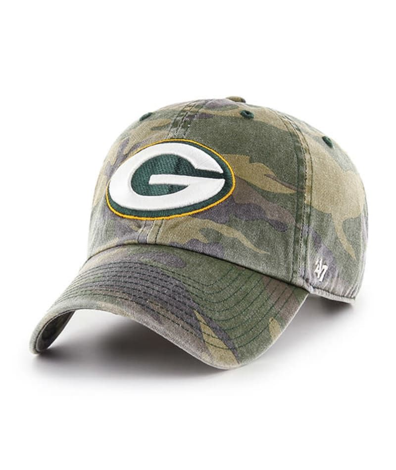 Green Bay Packers 47 Brand Camo Cargo Clean Up Adjustable Hat Detroit Game Gear Green Bay Packers Hat Green Bay Packers Packers Hat