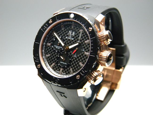 Edox Class 1 Chronoffshore (quartz), model 10020-37R-NIR watches