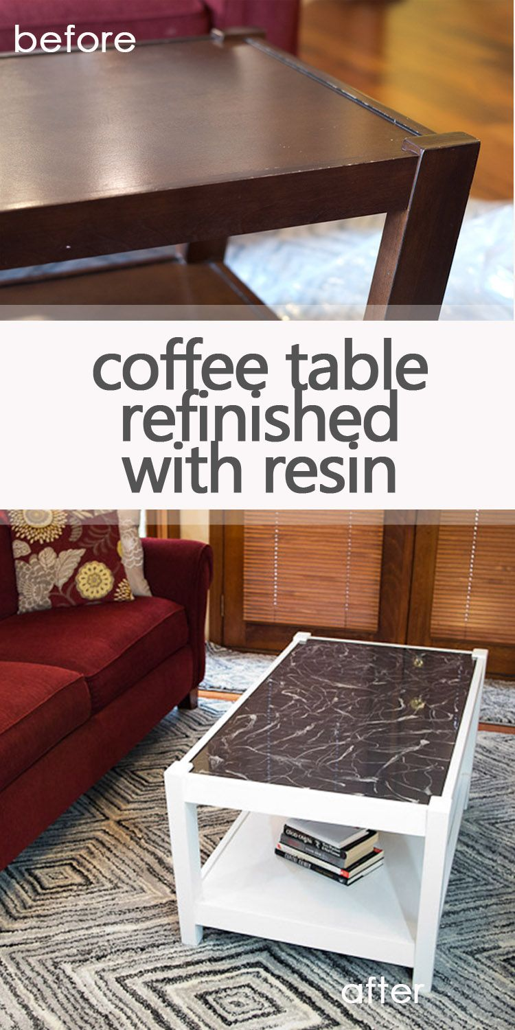 Check Out This Coffee Table Refinished With Resin Coffee Table Refinish Coffee Table Diy Coffee Table [ 1500 x 750 Pixel ]