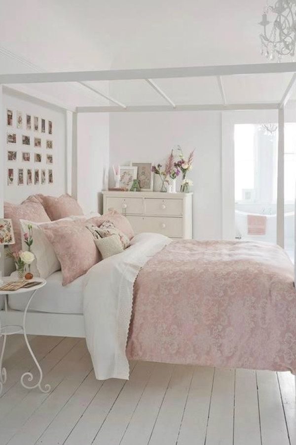 50 Awesome Shabby Chic Bedroom Decor Designs To Consider For