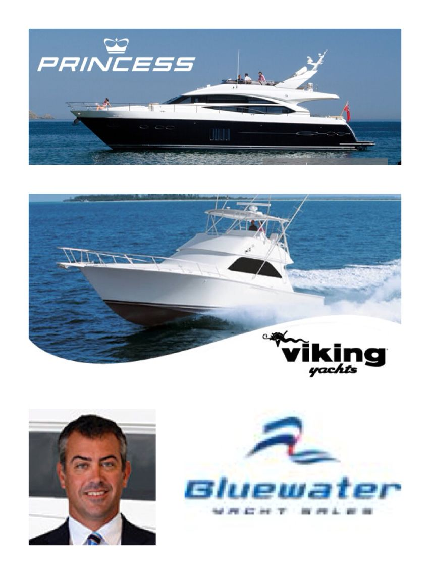 John D. Riggs Yacht broker for Bluewater yacht sales in Wrightsville Beach, N.C. (910)262-5566 Viking yachts, Princess Yachts