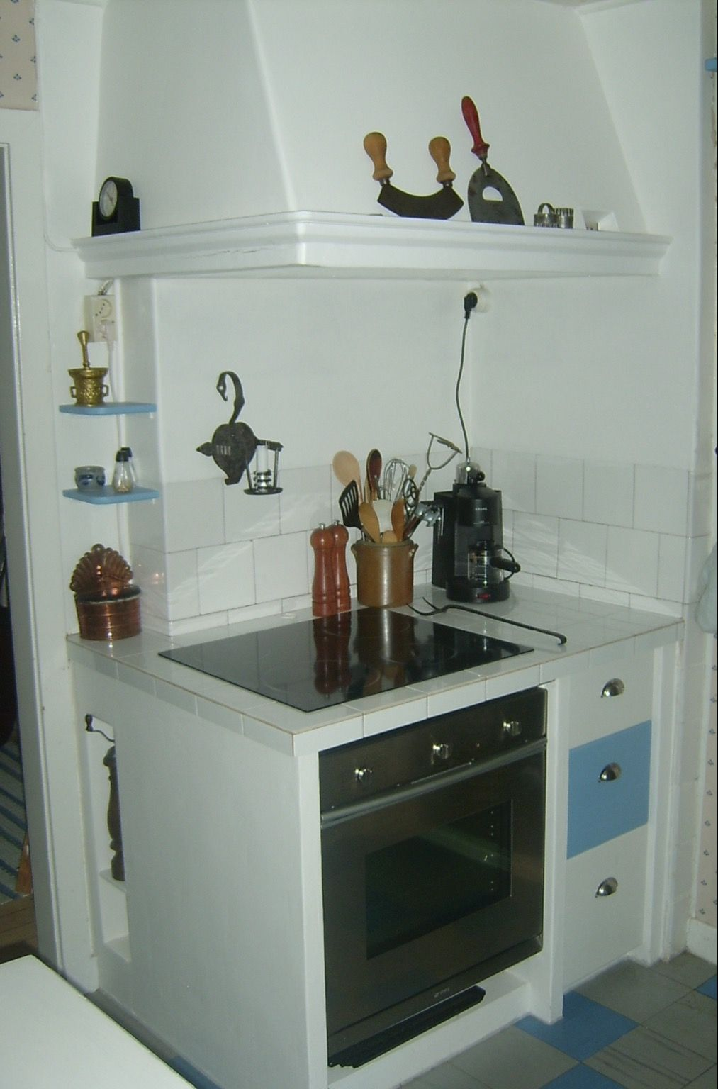 Køkkenet i mit knäktatorp i Småland