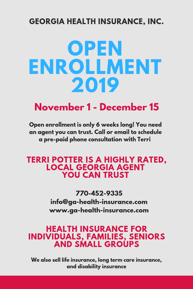 Open Enrollement 2019 Consultation Appointments Health Insurance
