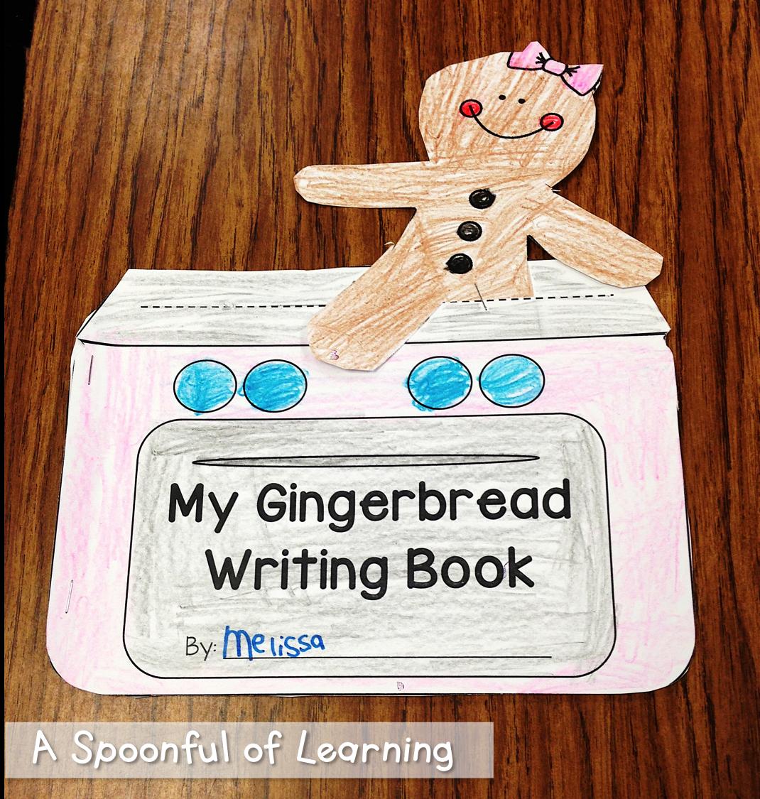 Gingerbread Unit Math Literacy And Writing Fun