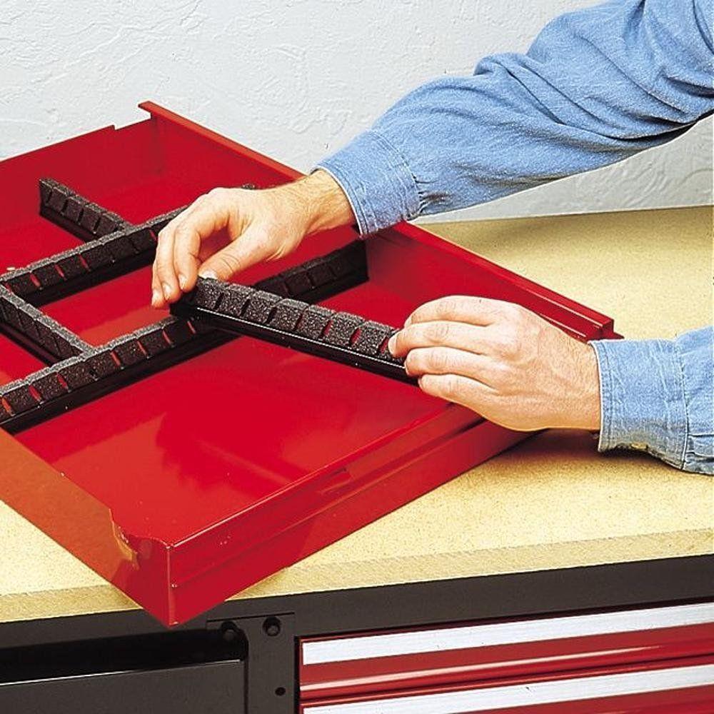craftsman toolbox organizer system custom tool dividers holders wrench rack toolbox organizer. Black Bedroom Furniture Sets. Home Design Ideas