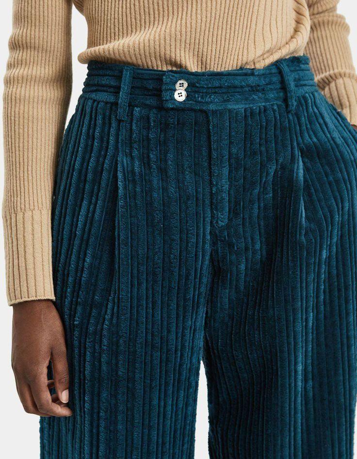 Photo of Scape Wide Corduroy Trousers  ttttttVelvet corduroy trouser from Hope. Hig… – …
