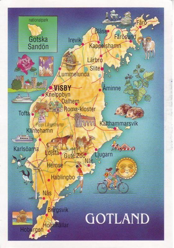 Gotland Sweden Map Bing Images Sweden Pinterest Sweden Map - Sweden map gotland