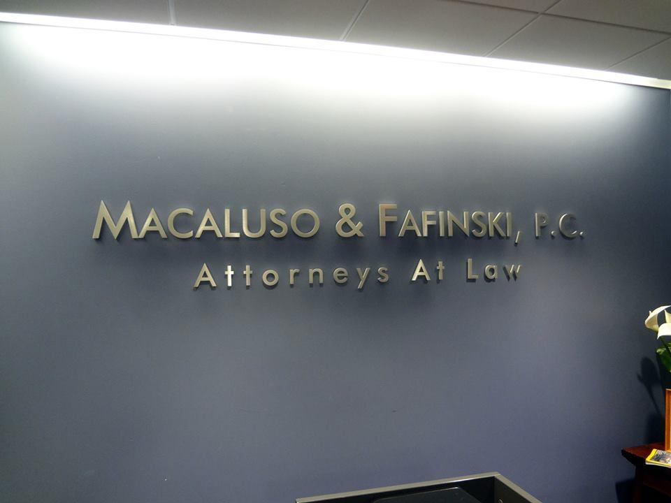 Ordinaire Reception Wall Lettering NYC   Office Wall Lettering NYC   Metal Sign  Lettering   We Specialize