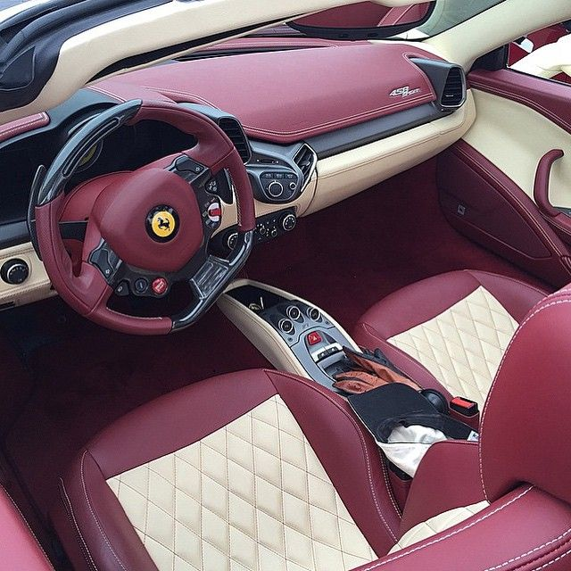 2016 Ferrari California Interior: Instagram Post By Luxury • Success • Motivation (@the