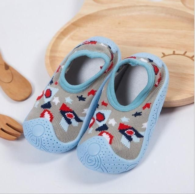 Photo of Newborn Spring Infant Socks Anti Slip Baby Boy Socks With Rubber Soles Baby Girl