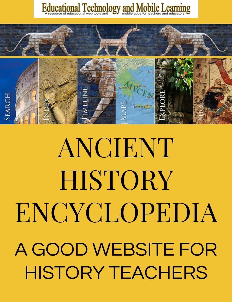 Photo of A Good Website for History Teachers