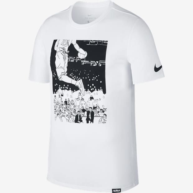 differently 95b96 47dee Camiseta Nike Dry Dunk Lebron James Masculina  Nike