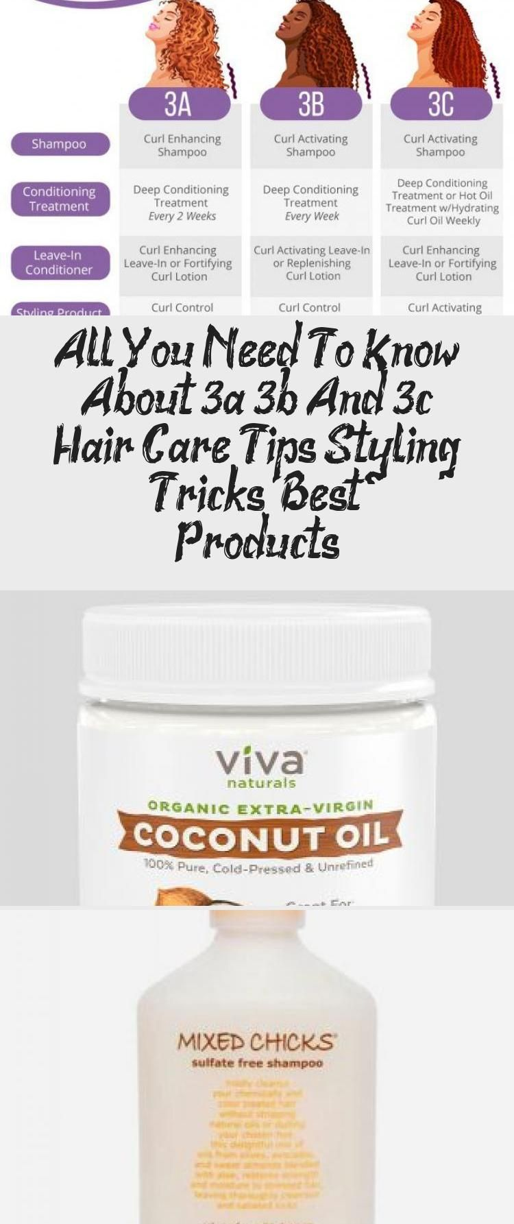 All You Need To Know About 3a 3b And 3c Hair Care Tips Styling