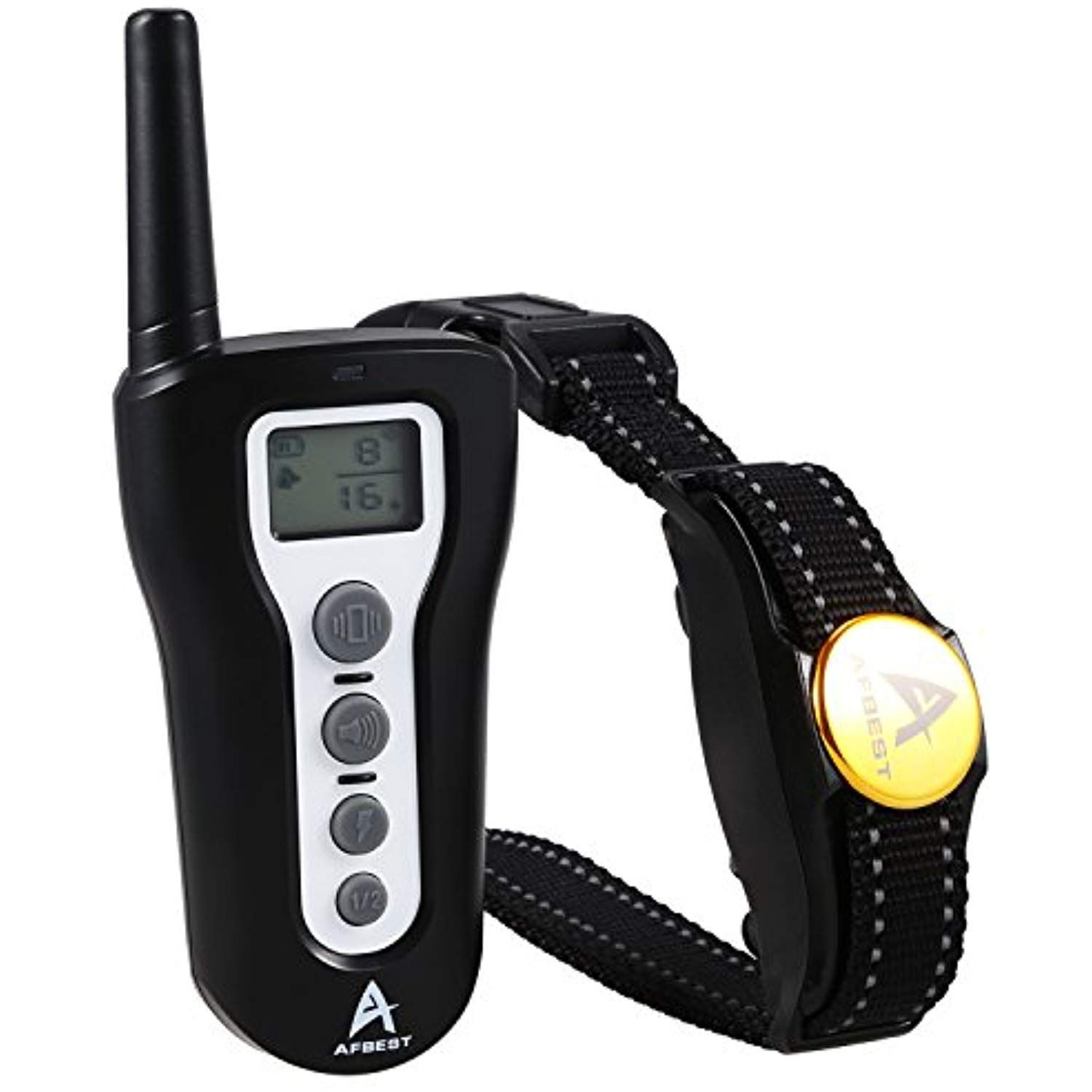 Afbest dog training collar 100 waterproof and 1000ft