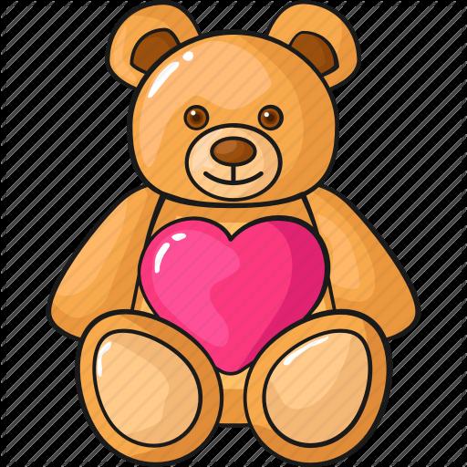 'Cute valentine's hand drawn' by FRDMN Teddy bear