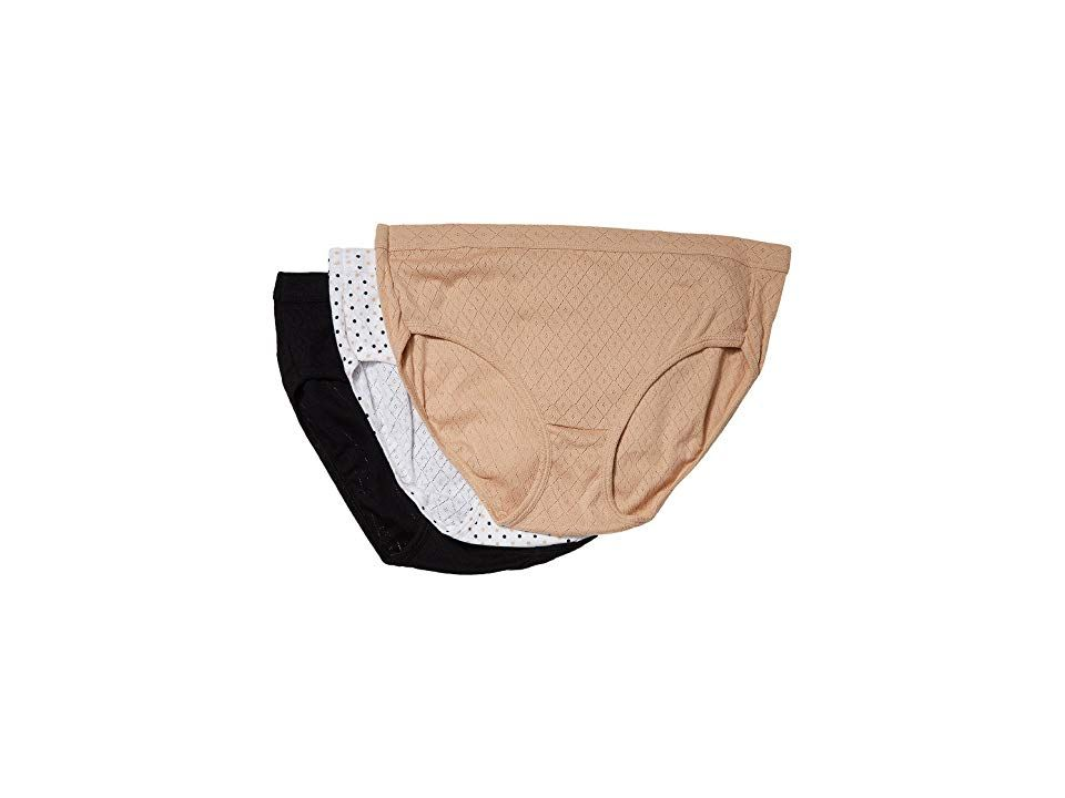 Jockey Womens Underwear Elance Breathe Hipster 3 Pack