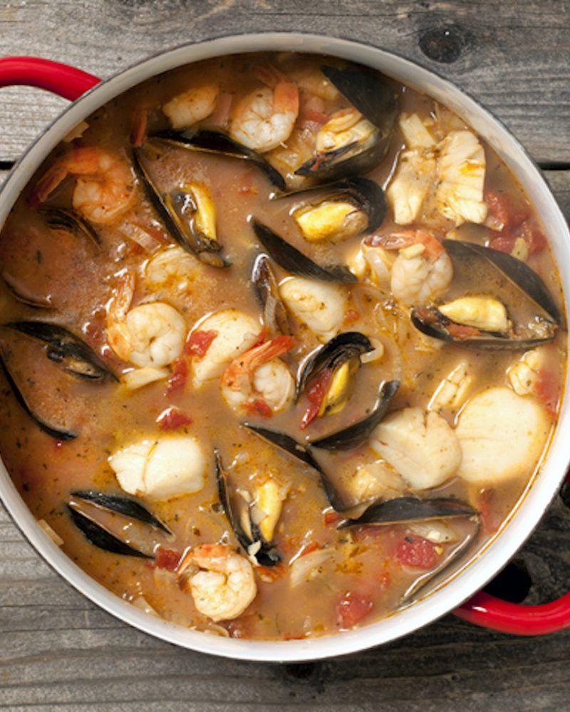 Ricetta Zuppa Ratatouille.Bouillabaisse Come Fare La Zuppa Di Pesce Francese Zuppa Di Pesce Ricette Zuppe Ricette