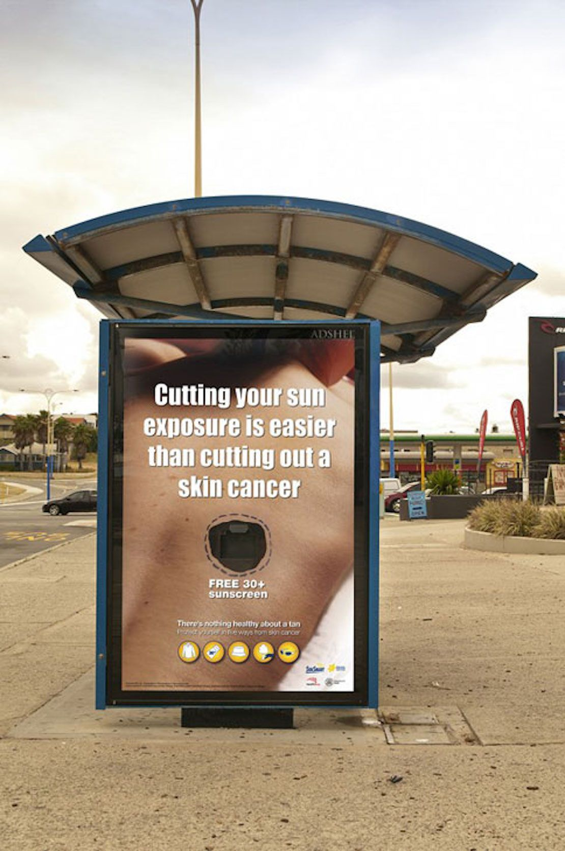 Advertisements  >> 48 Fresh And Creative Bus Stop Advertisements That Will Blow Your