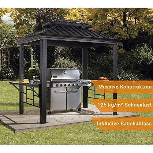 8-x-6-BBQ-Gazebo-Steel-Ventilation-Roof-Outdoor-Table-Set