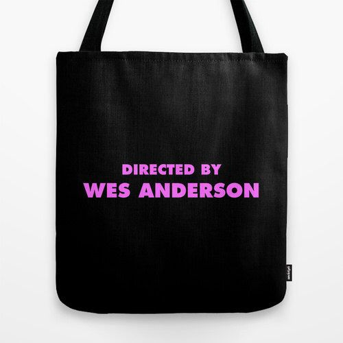 Directed By Wes Anderson Tote Bag by DirectedBye on Etsy https://www.etsy.com/listing/186645387/directed-by-wes-anderson-tote-bag