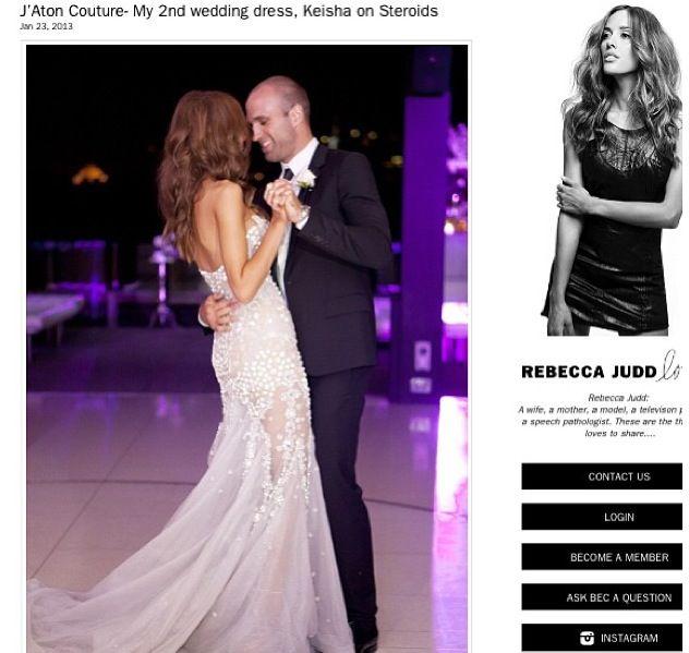 J Aton Couture My 2nd Wedding Dress Keisha On Steroids