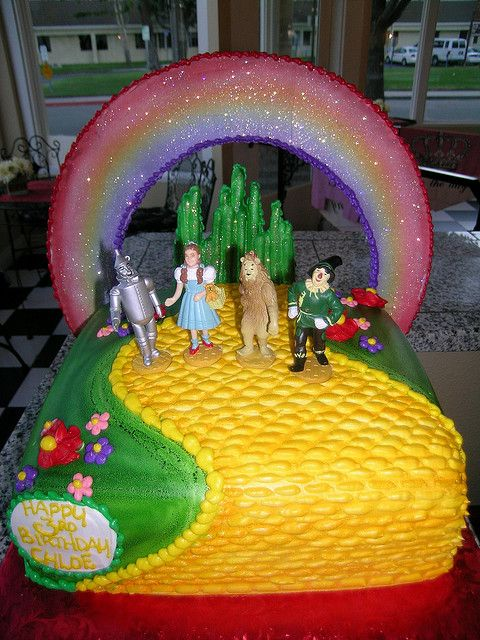 Wizard Of Oz Cake In 2019 Birthday Party Ideas Cake