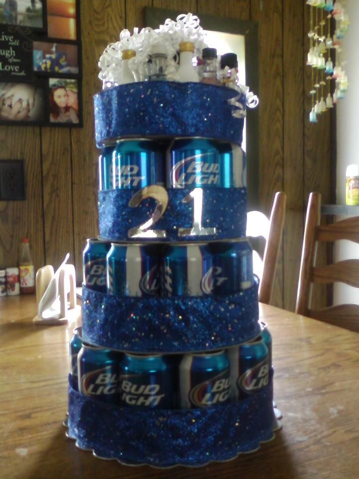 Made My Hubby A Beer Cake Used A Whole 30 Pack Of Beer