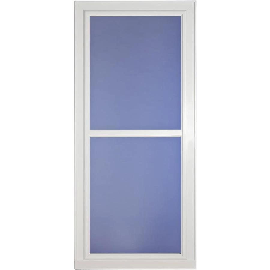 Larson Tradewinds Fullview White Full View Aluminum Storm Door
