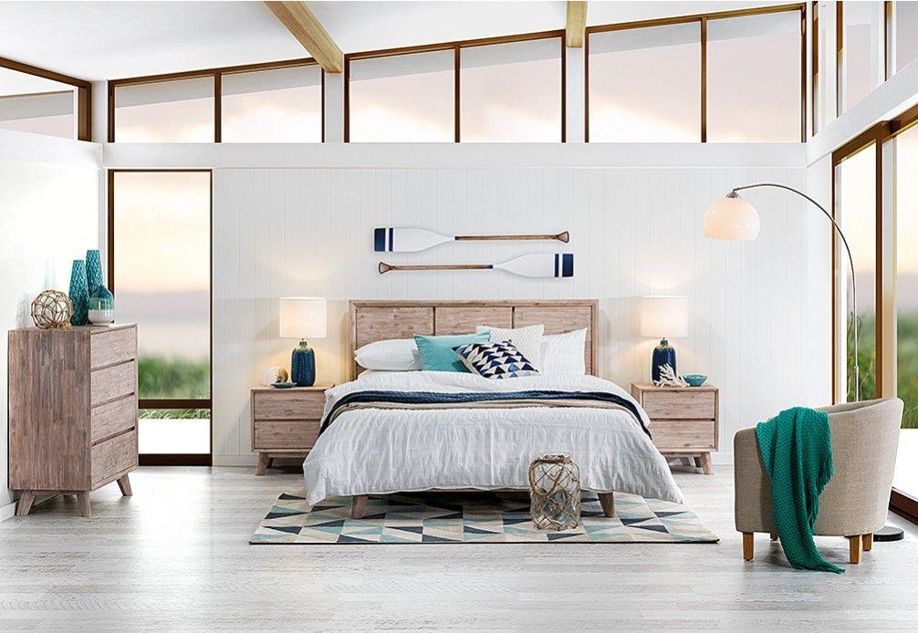 Portland 4 Piece Queen Bedroom Suite Super Amart Queen Bedroom