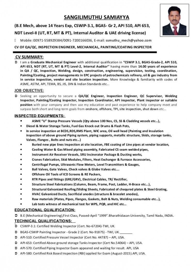 12 Weld Store Engineer Resume