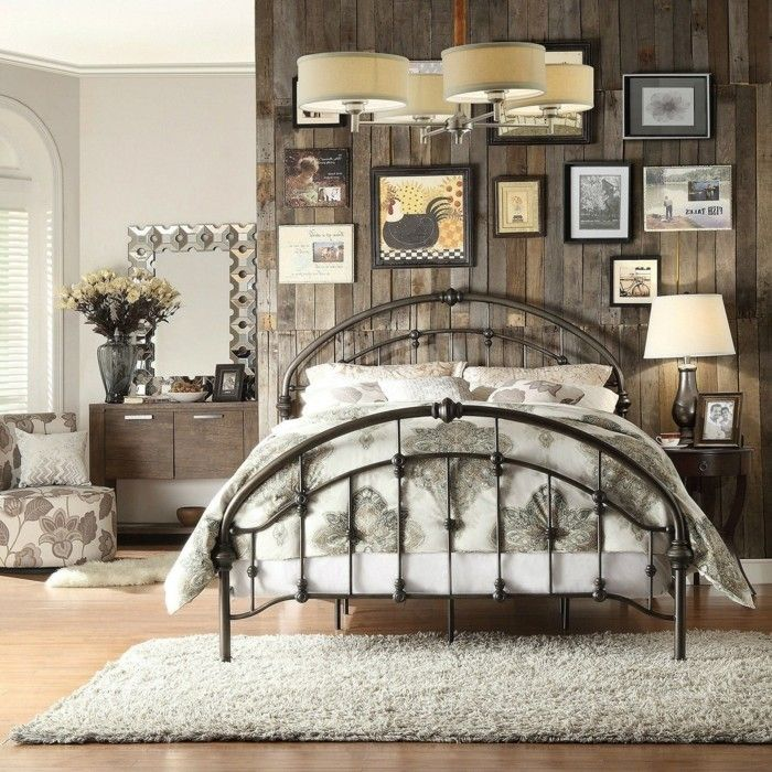 deco chambre adulte fer forge
