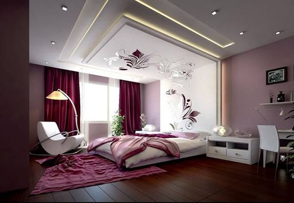 Looking Alluring Bed Room Interior Design With Modern Concepts BedRoom SanjayDutt