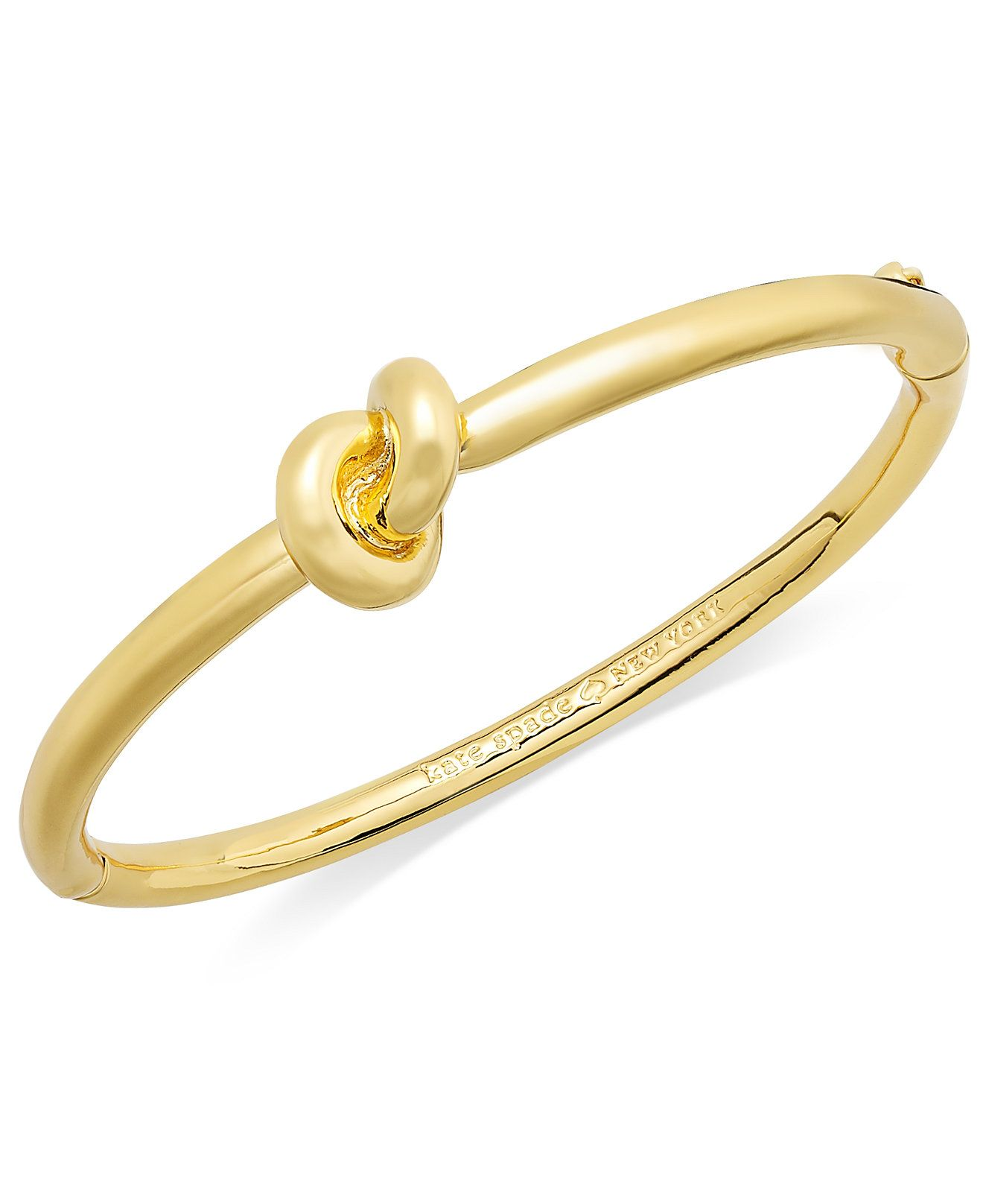 Bracelet sailorus knot hinge bangle bracelet totally new york