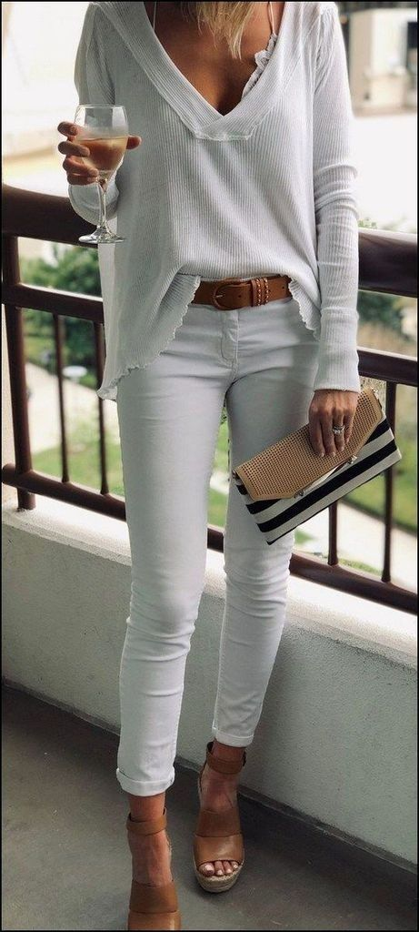 119 Flawless Outfits Ideas to Finish Summer With Style #summerdinneroutfits